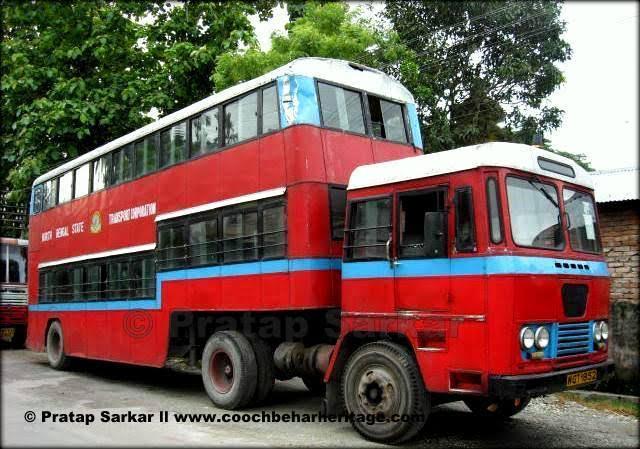 Double-decker bus of kochbihar